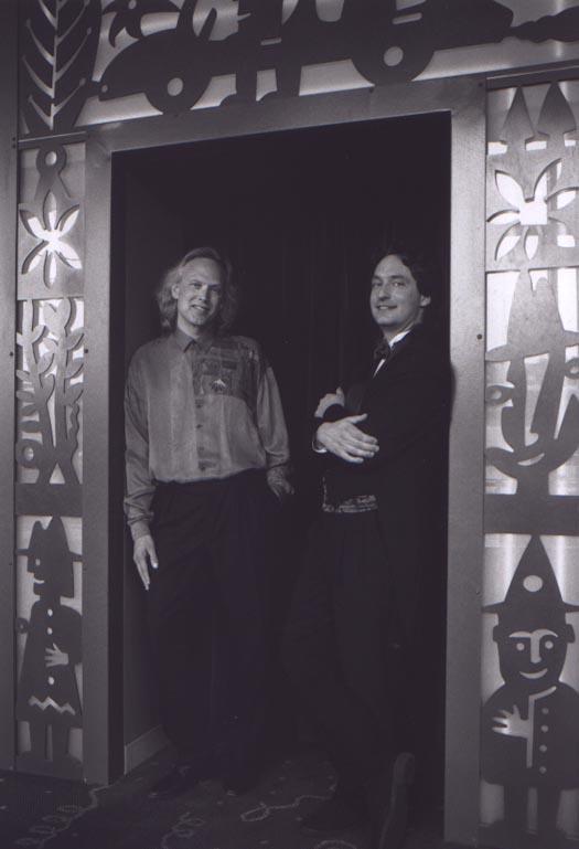 David Lanz and Steffan Soule